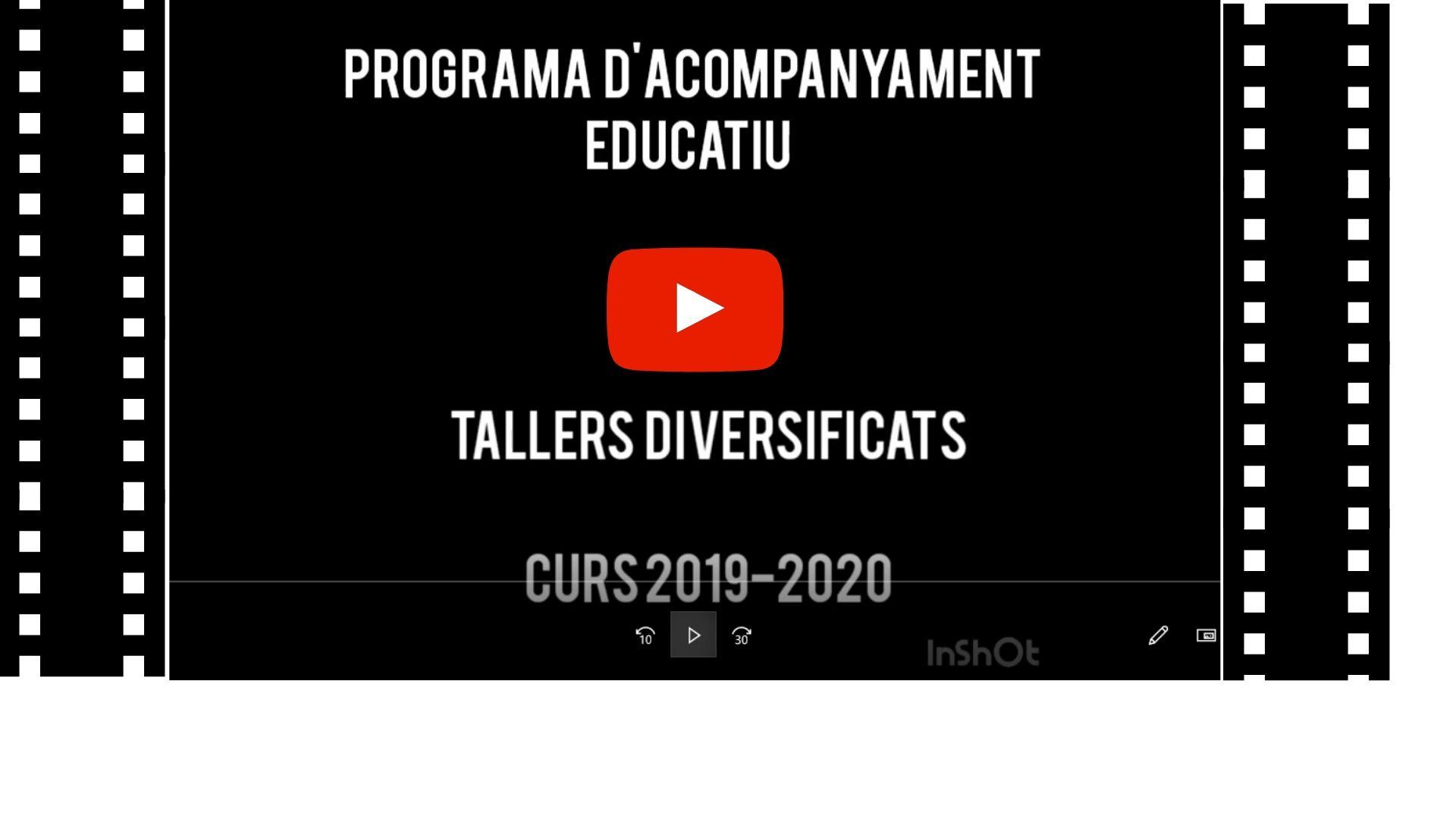 Projecte d'Acompanyament Educatiu – PAE